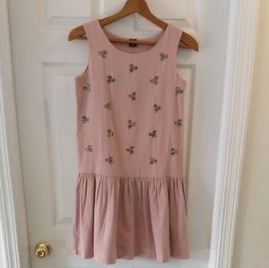 GapKids Pink Drop Waist Dress with Stones Sz XXL